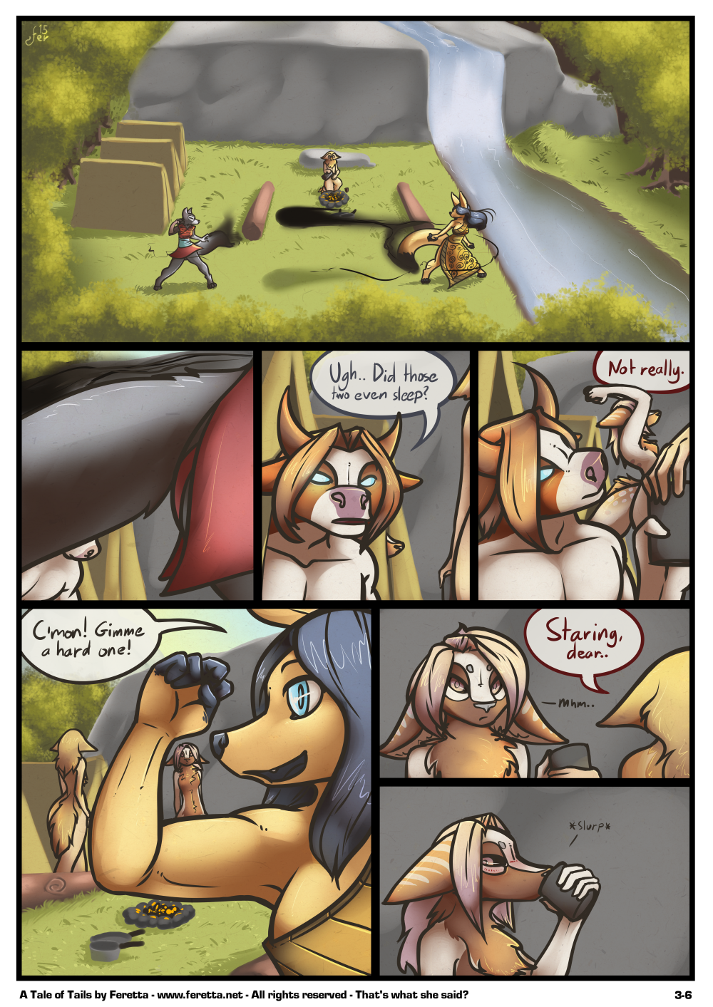 A Tale of Tails, 3-6