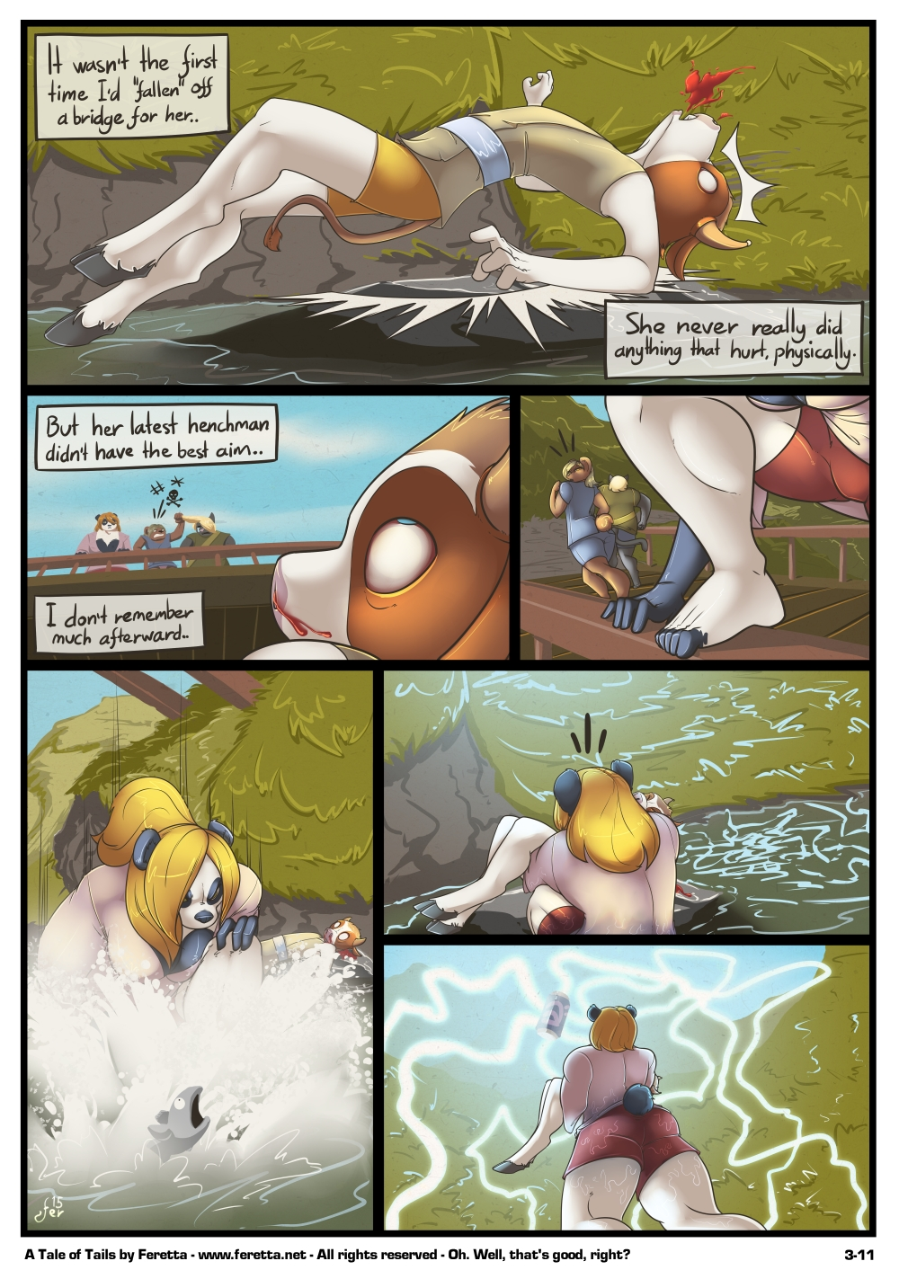 A Tale of Tails, 3-11