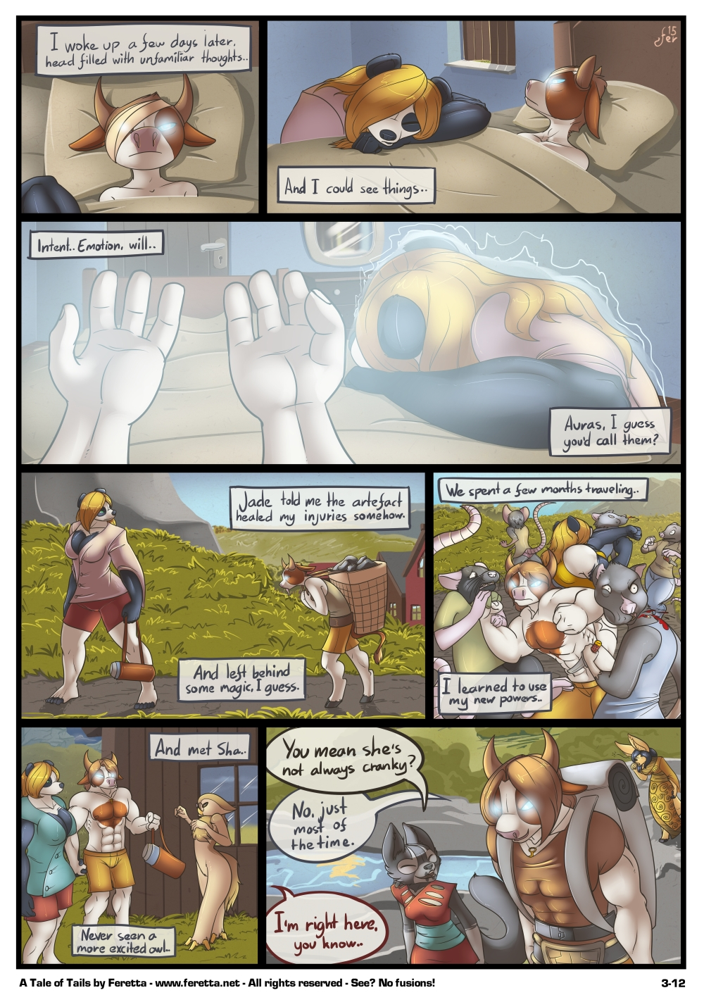 A Tale of Tails, 3-12
