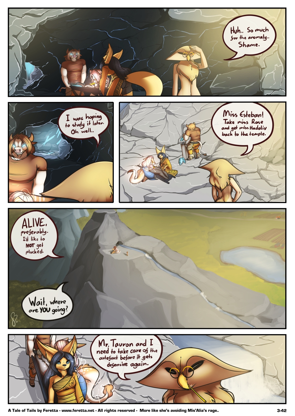 A Tale of Tails, 3-42
