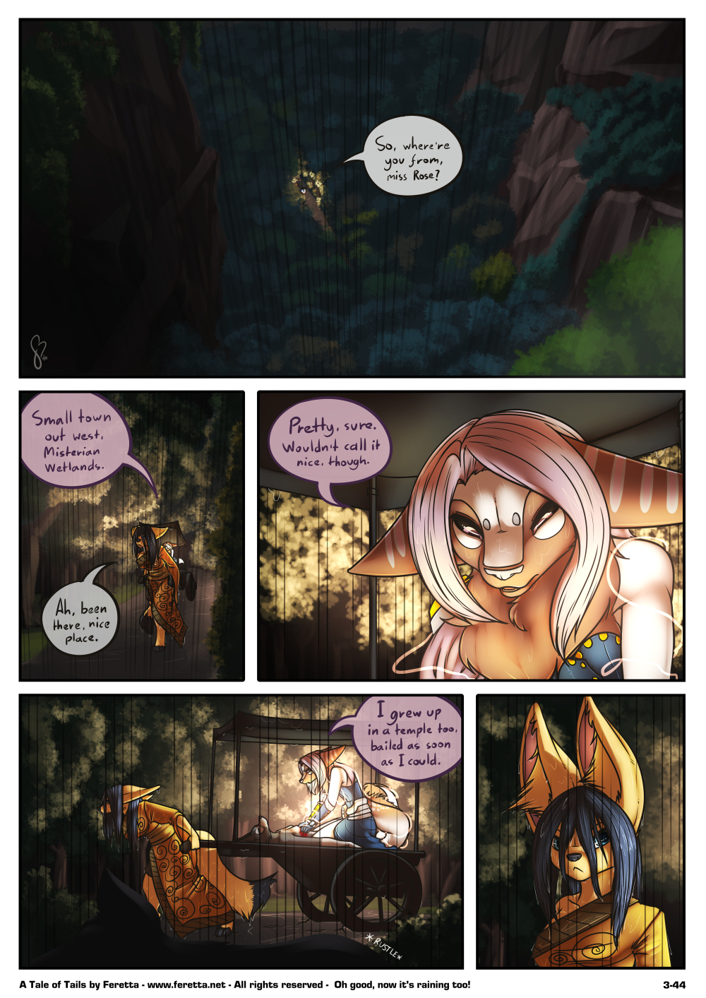 A Tale of Tails, 3-44