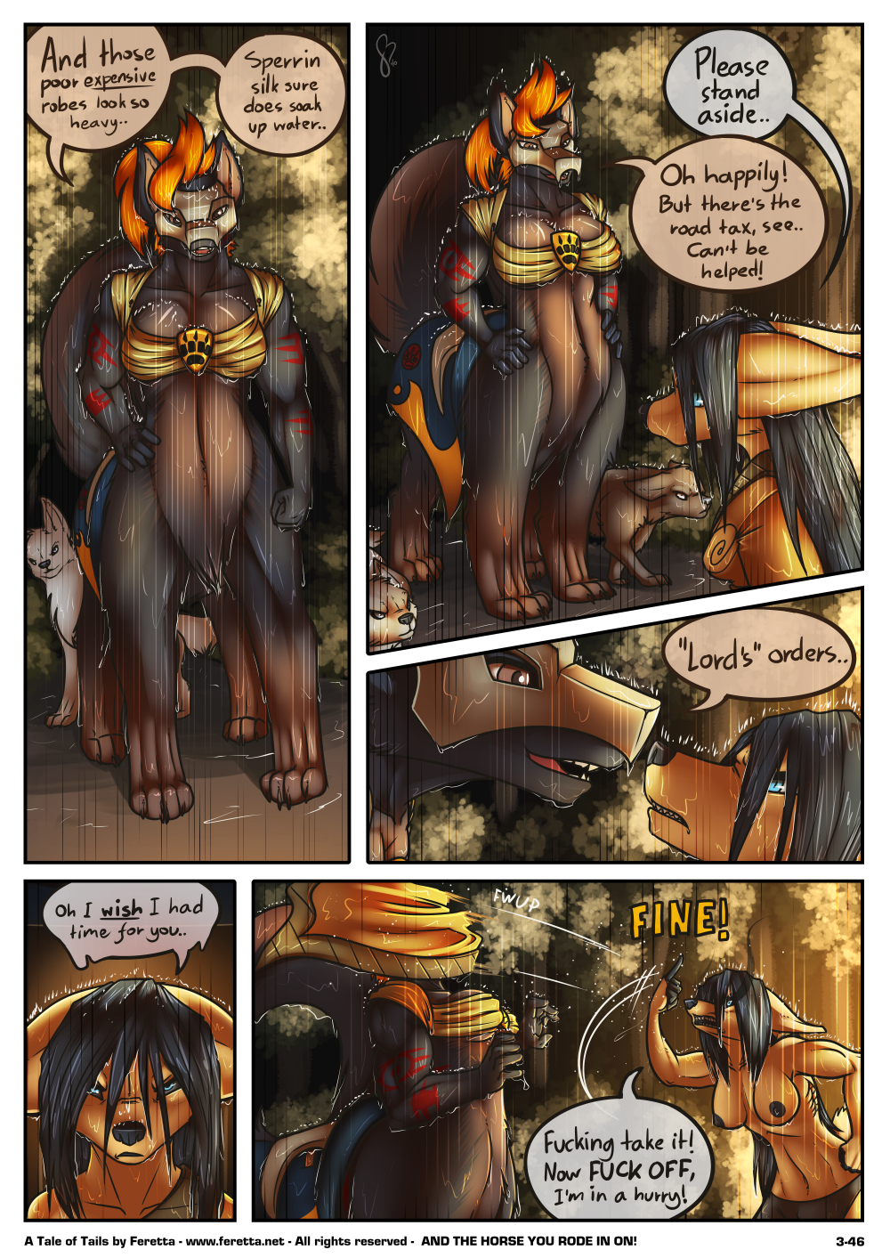 A Tale of Tails, 3-46
