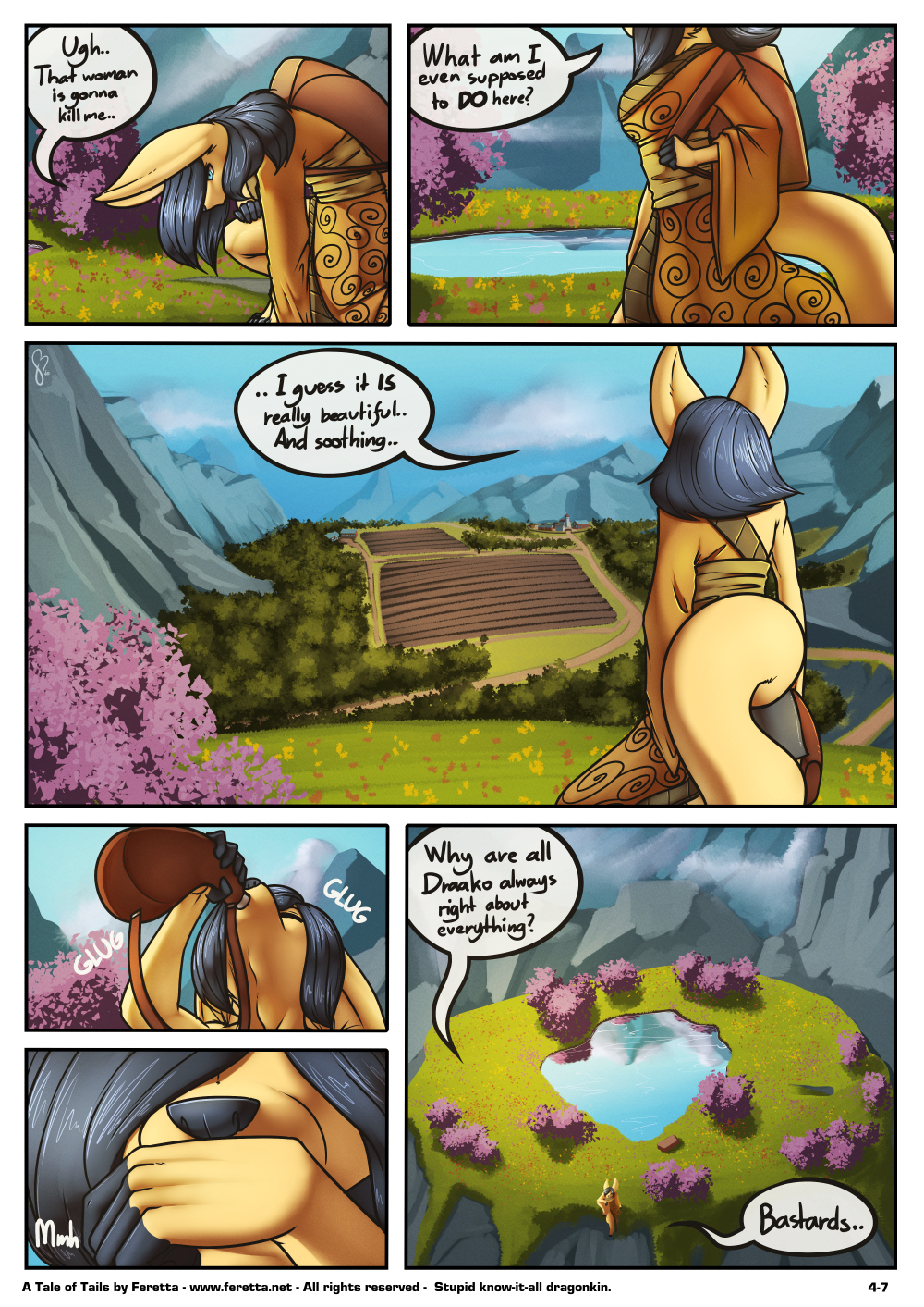 A Tale of Tails, 4-7