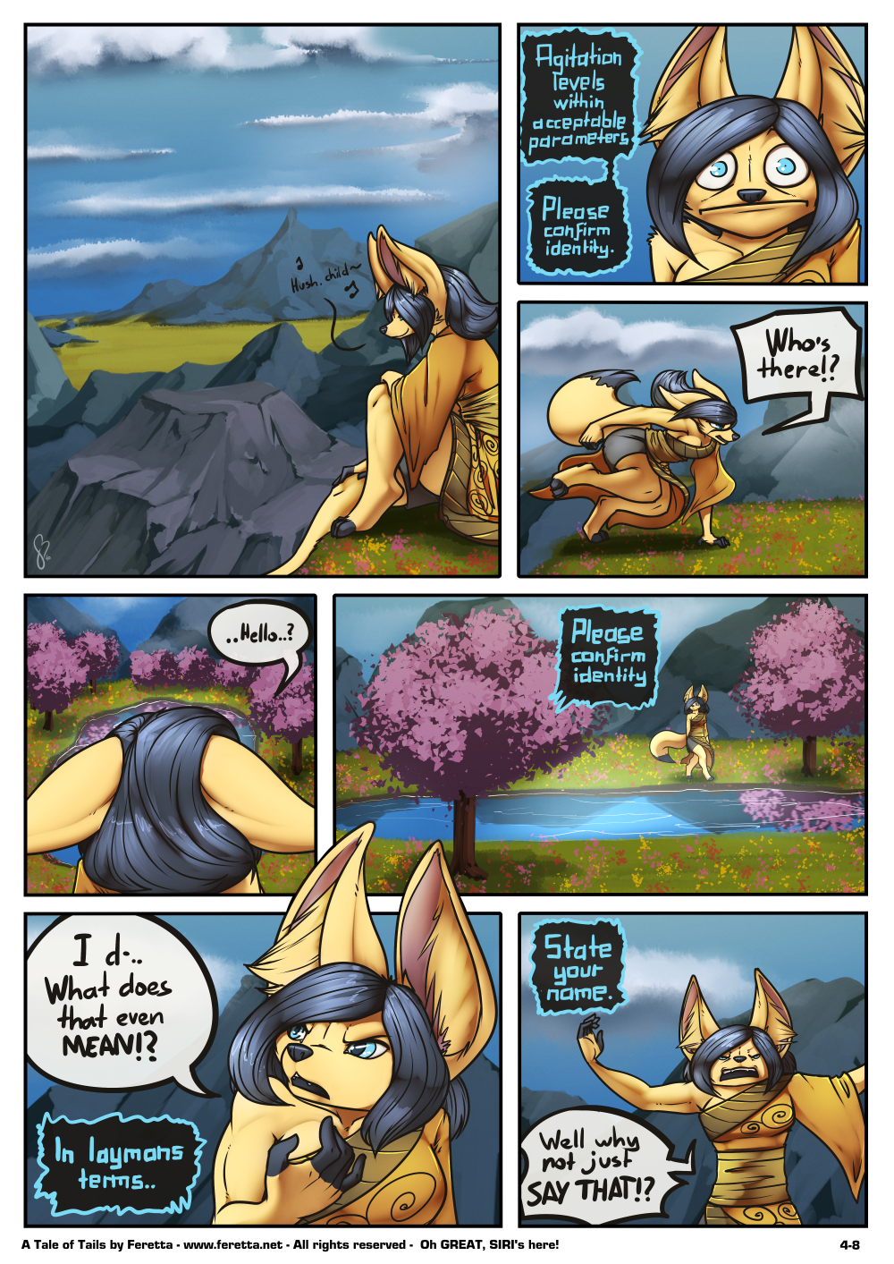 A Tale of Tails, 4-8