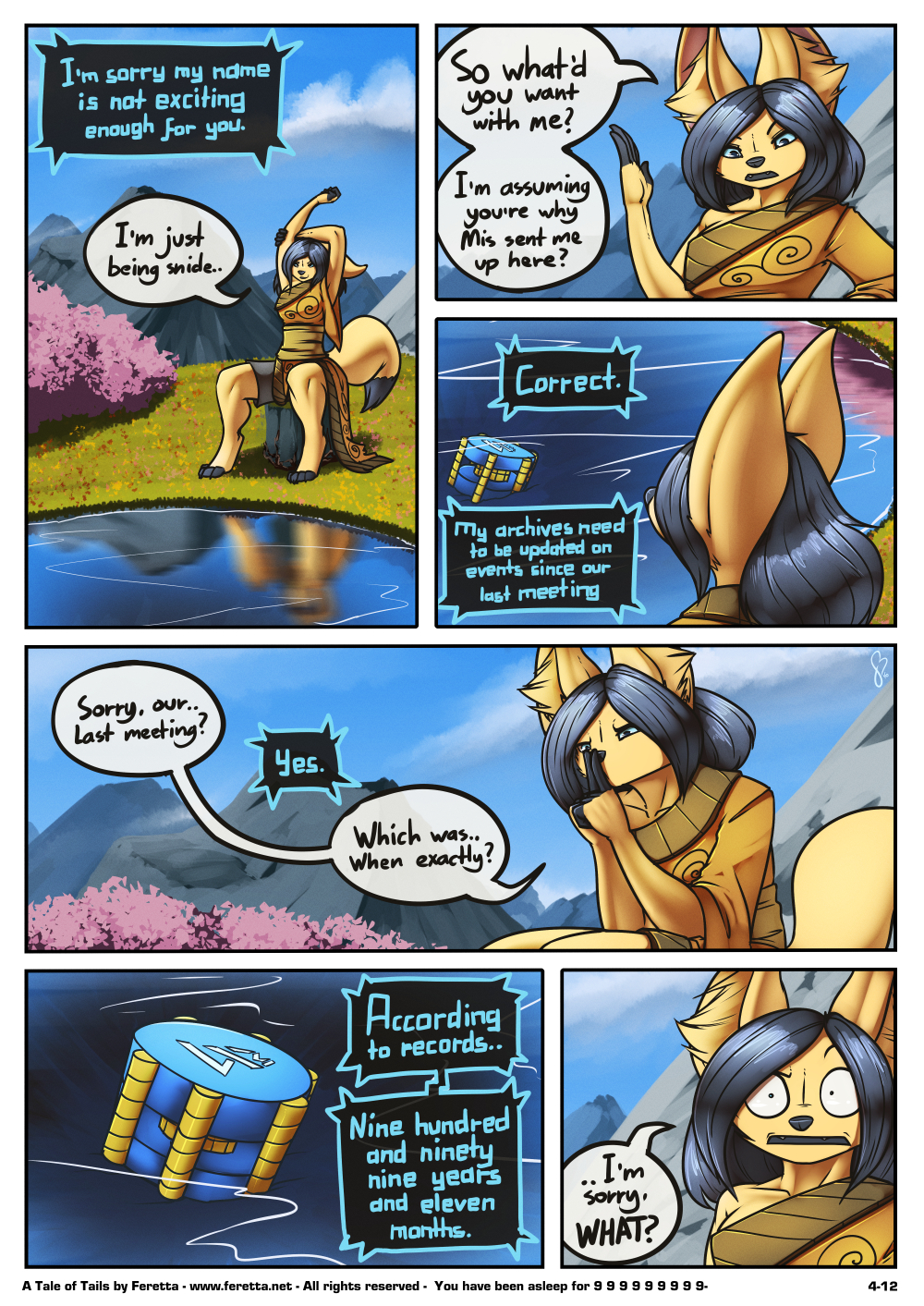 A Tale of Tails, 4-12