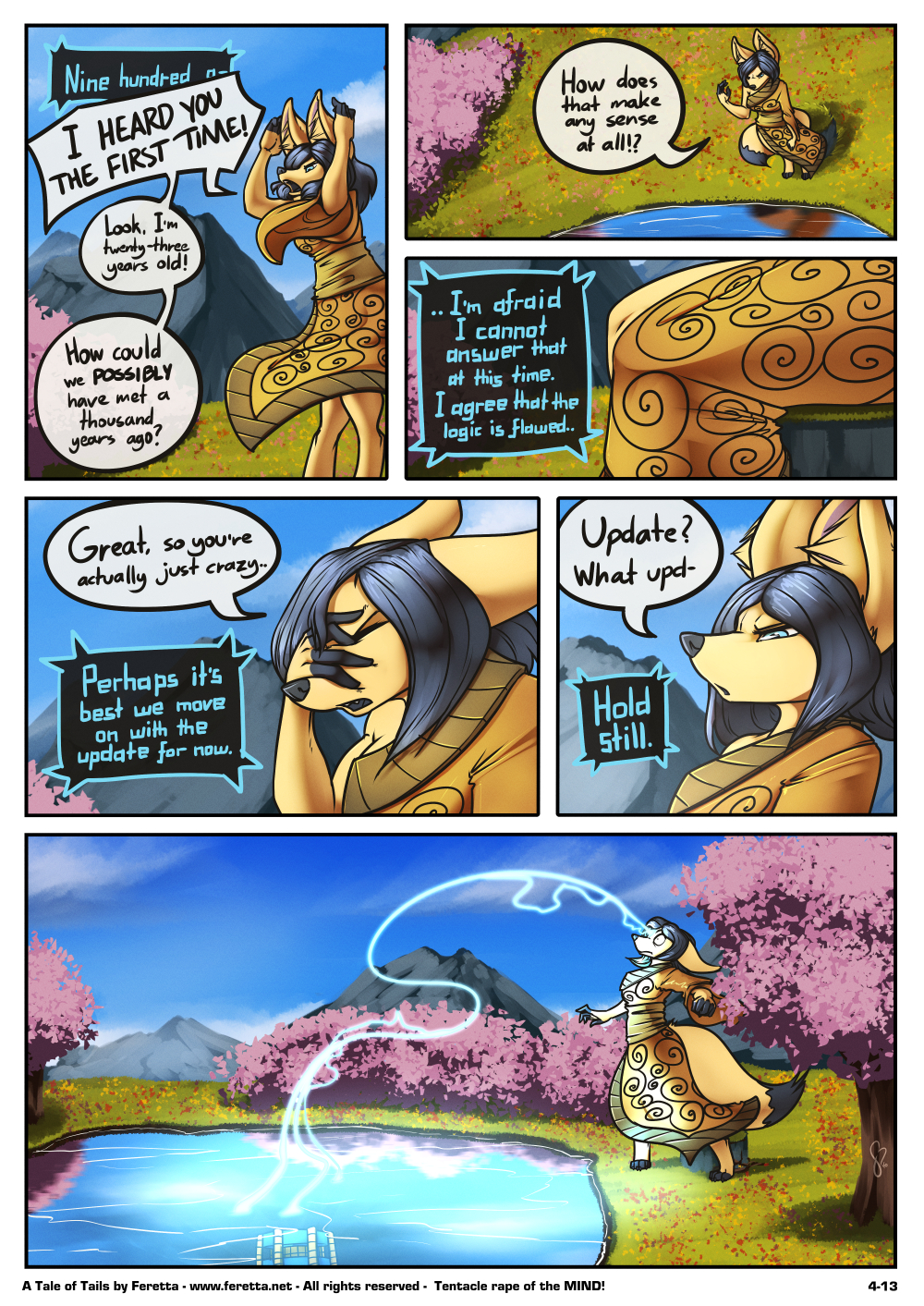 A Tale of Tails, 4-13