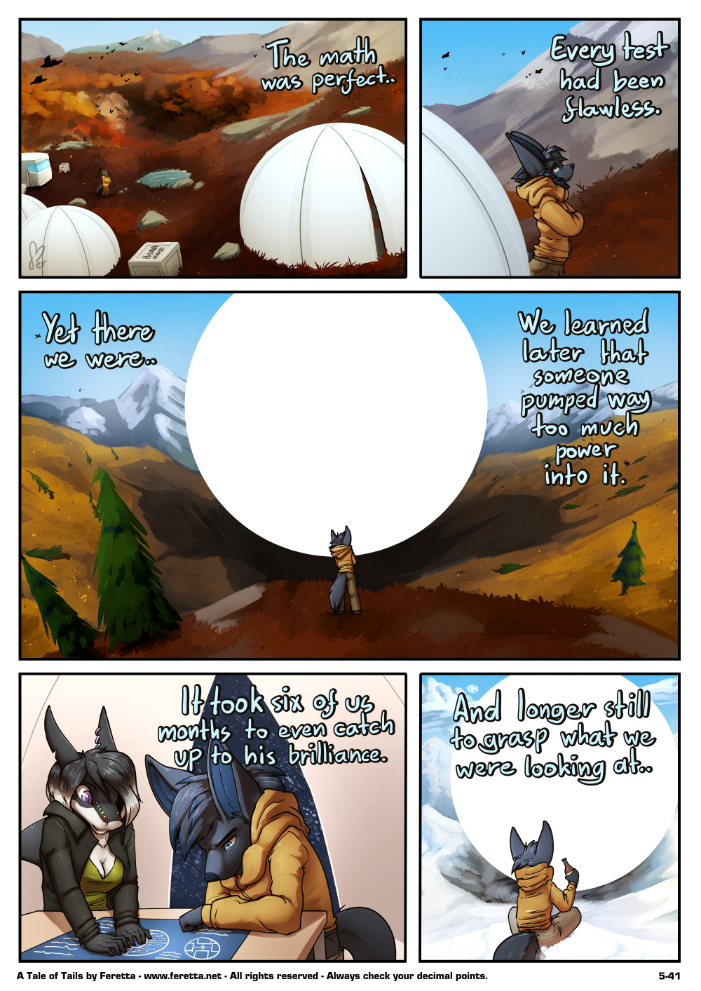 A Tale of Tails, 5-41
