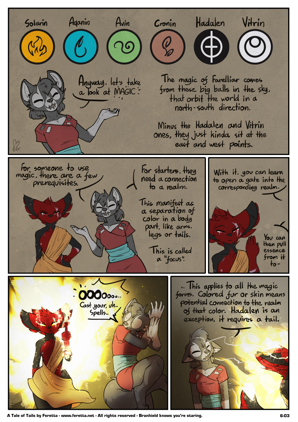 A Tale of Tails, 6-03