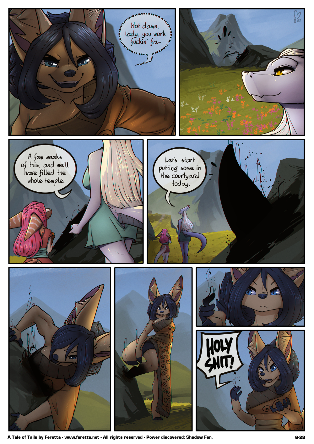 A Tale of Tails, 6-28