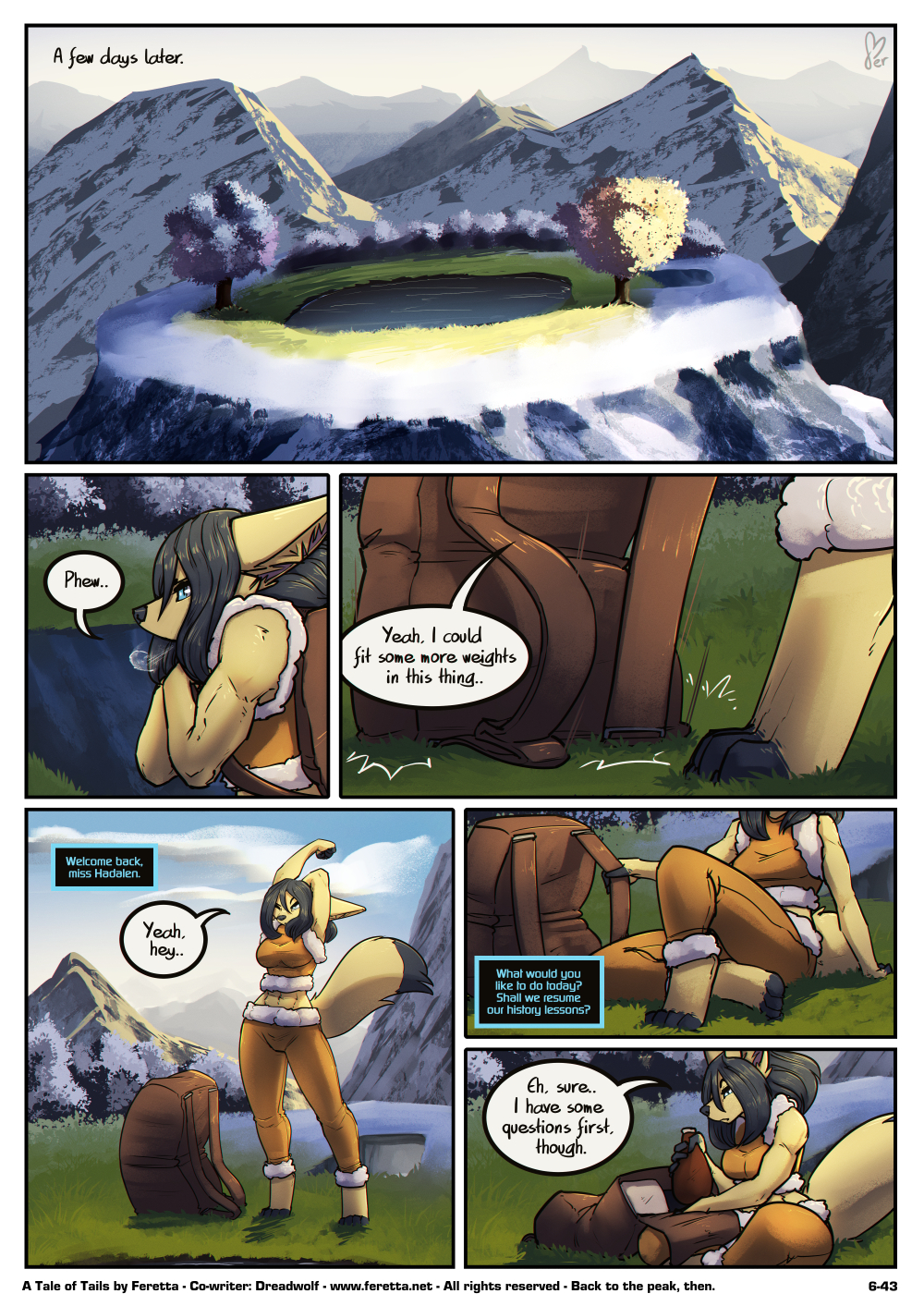 A Tale of Tails, 6-43