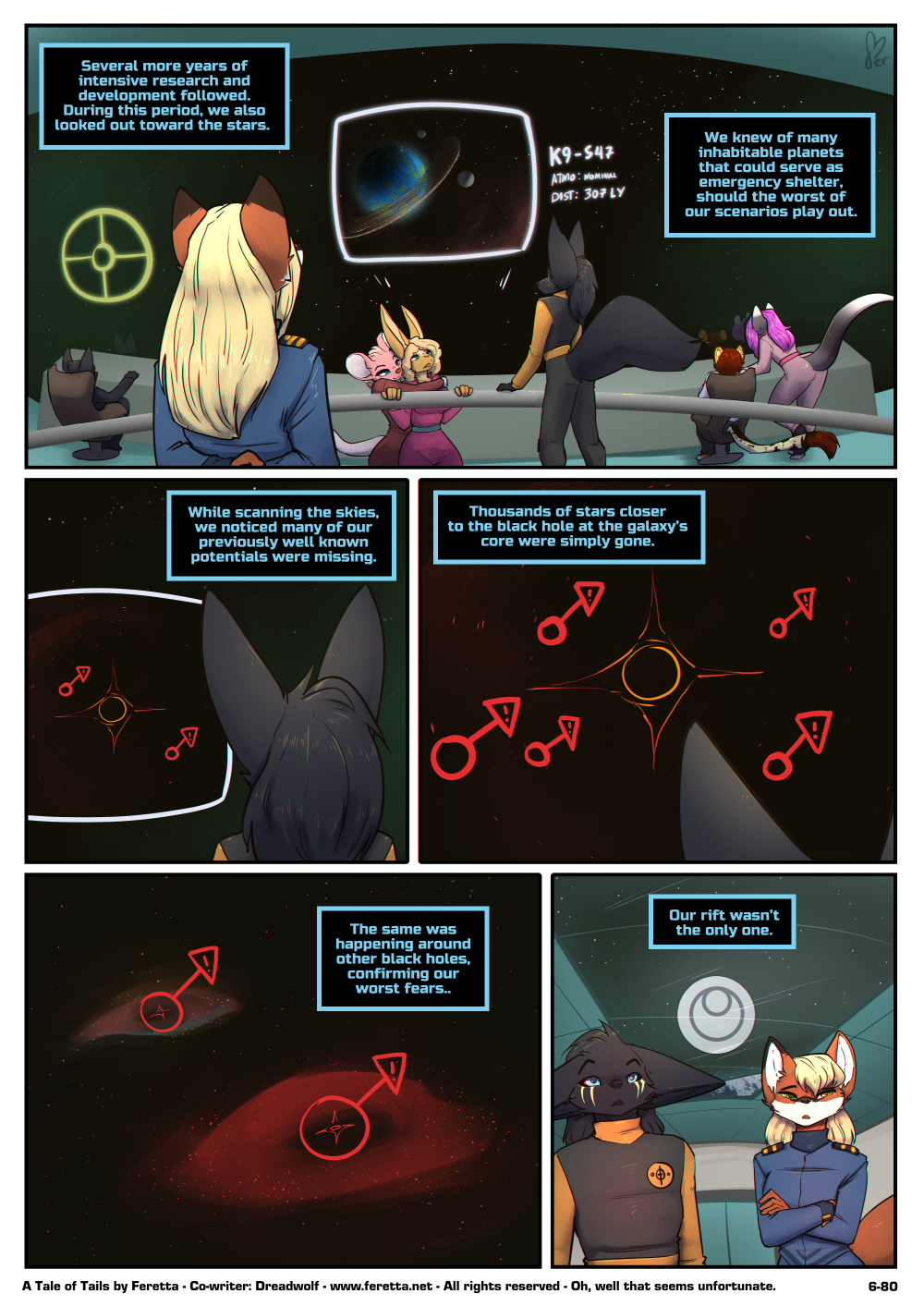 A Tale of Tails, 6-80